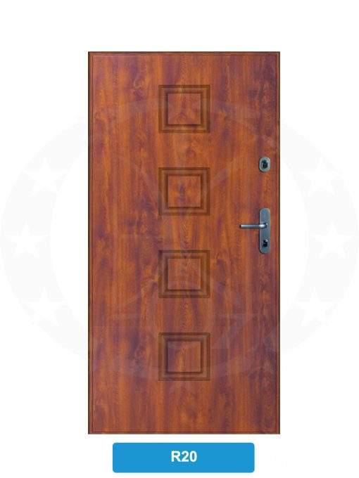 Двері вхідні металеві GERDA WX10 PREMIUM R20