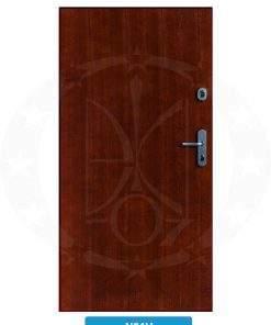 Двері вхідні металеві GERDA WX10 PREMIUM N01V