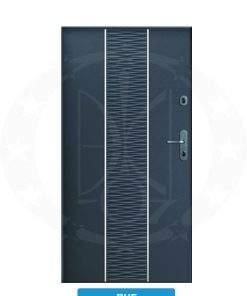 Двері вхідні металеві GERDA WX10 PREMIUM RHF