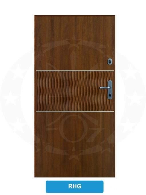 Двері вхідні металеві GERDA WX10 PREMIUM RHG