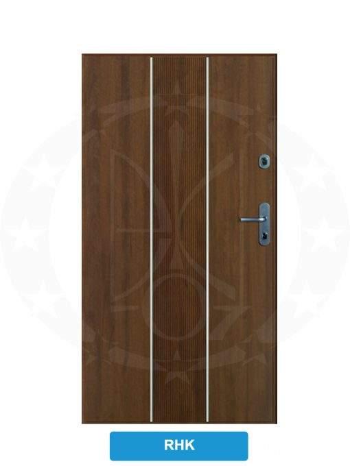 Двері вхідні металеві GERDA WX10 PREMIUM RHK