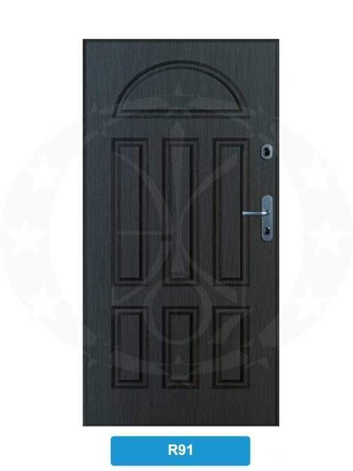 Двері вхідні металеві GERDA SX10 STANDARD R91