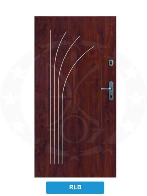 Двері вхідні металеві GERDA SX10 STANDARD RLB