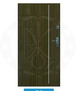 Двері вхідні металеві GERDA SX10 STANDARD RLC