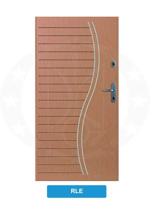 Двері вхідні металеві GERDA SX10 STANDARD RLE