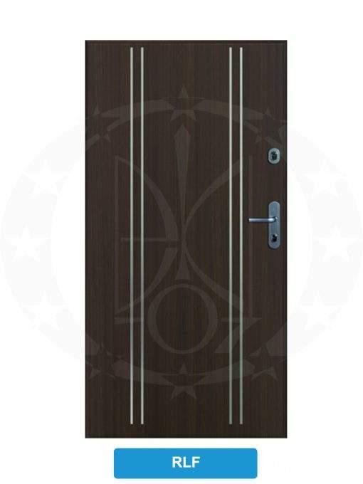 Двері вхідні металеві GERDA SX10 STANDARD RLF