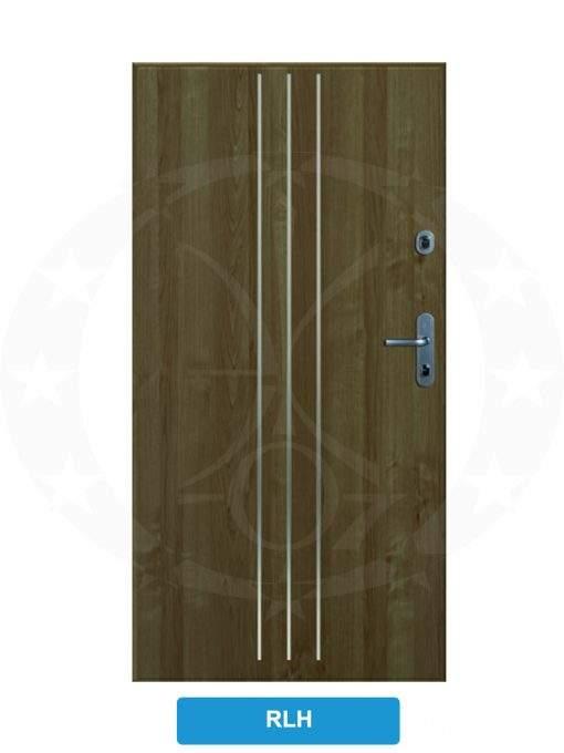 Двері вхідні металеві GERDA SX10 STANDARD RLH