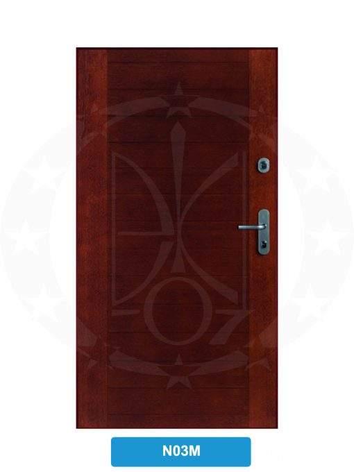 Двері вхідні металеві GERDA SX10 STANDARD N03M