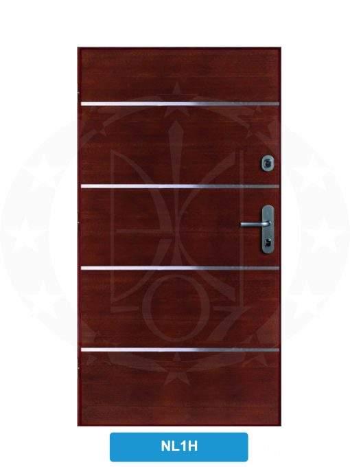 Двері вхідні металеві GERDA SX10 STANDARD NL1H