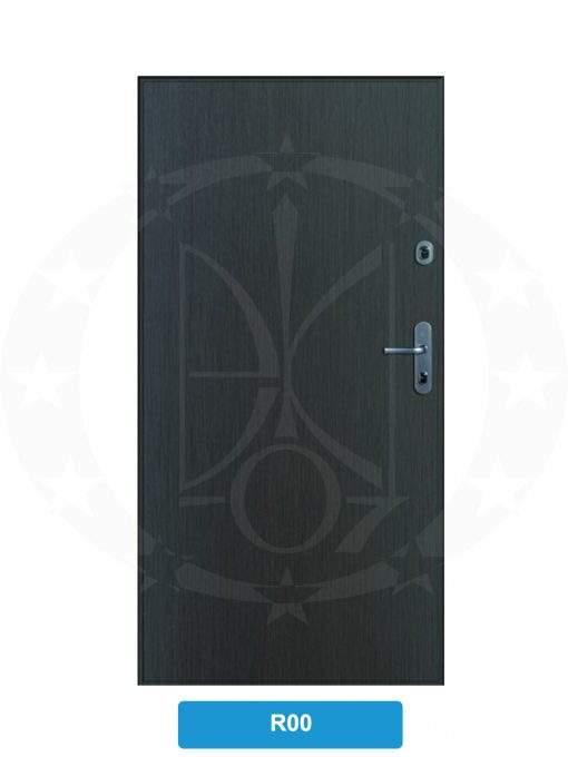 Двері вхідні металеві GERDA SX10 STANDARD R00