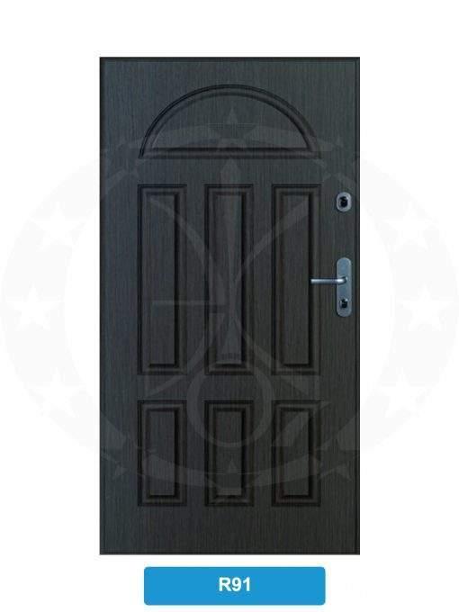 Двері вхідні металеві GERDA CX10 STANDARD R91