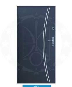Двері вхідні металеві GERDA CX10 STANDARD RLA