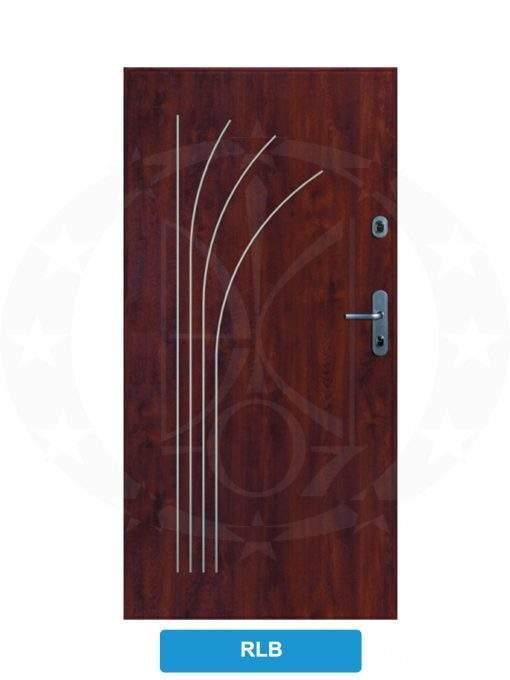 Двері вхідні металеві GERDA CX10 STANDARD RLB