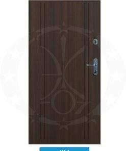 Двері вхідні металеві GERDA CX10 STANDARD VA4
