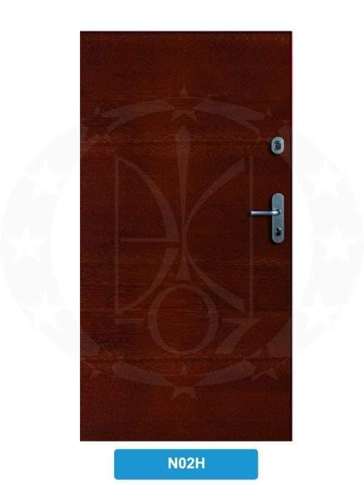 Двері вхідні металеві GERDA CX10 STANDARD N02H