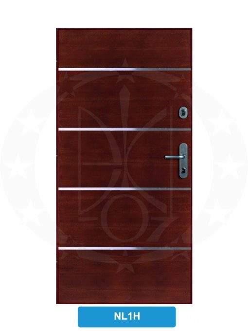 Двері вхідні металеві GERDA CX10 STANDARD NL1H