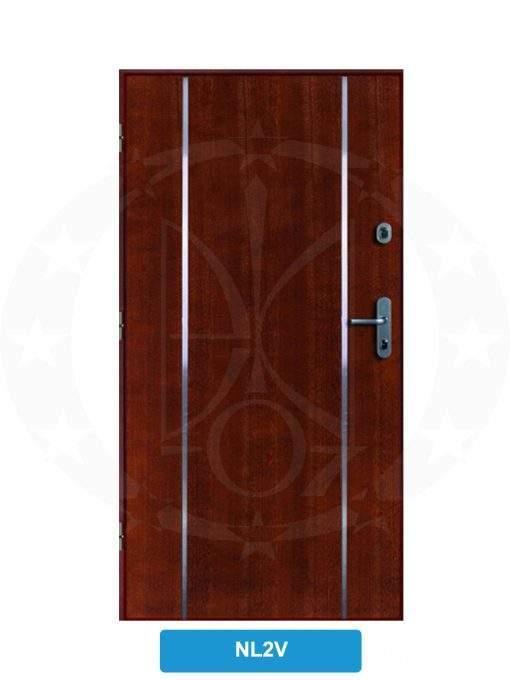 Двері вхідні металеві GERDA CX10 STANDARD NL2V