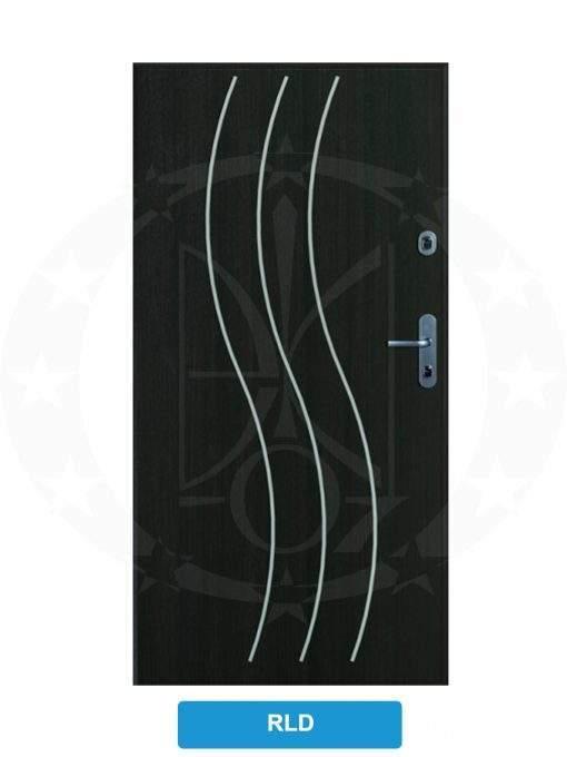 Двері вхідні металеві GERDA WX10 STANDARD RLD