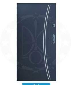 Двері вхідні металеві GERDA WX10 STANDARD RLA