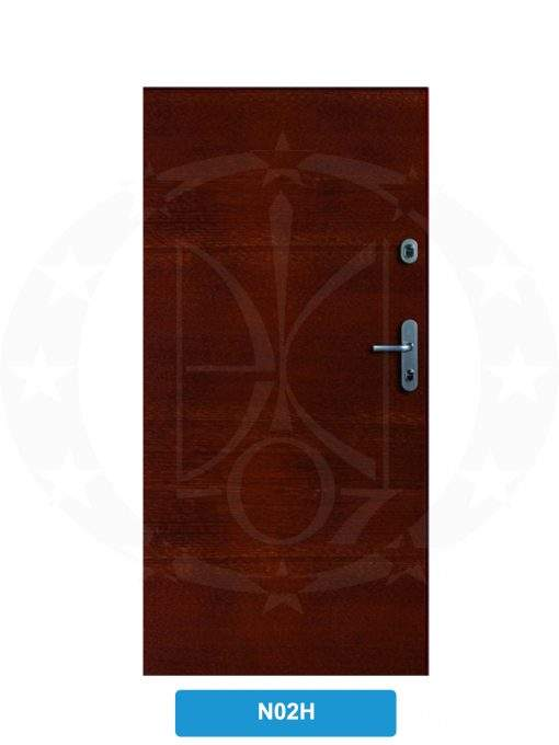 Двері вхідні металеві GERDA WX10 STANDARD N02H