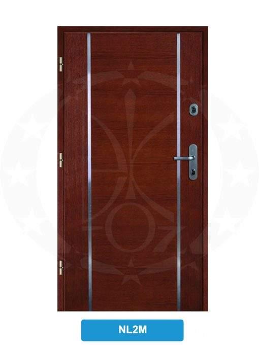 Двері вхідні металеві GERDA WX10 STANDARD NL2M