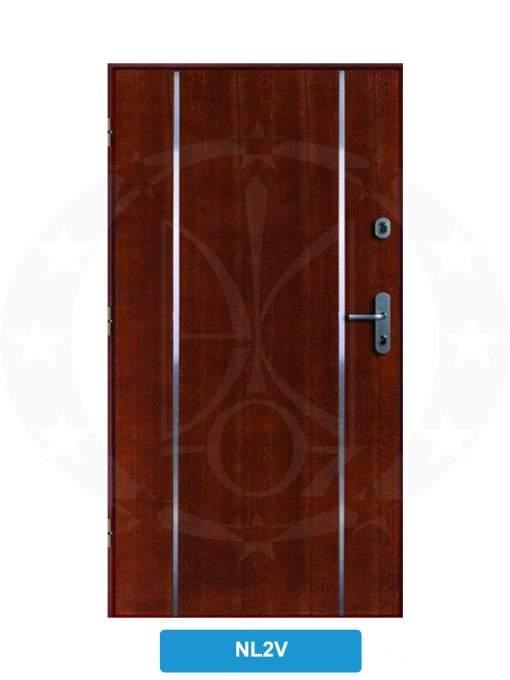 Двері вхідні металеві GERDA WX10 STANDARD NL2V