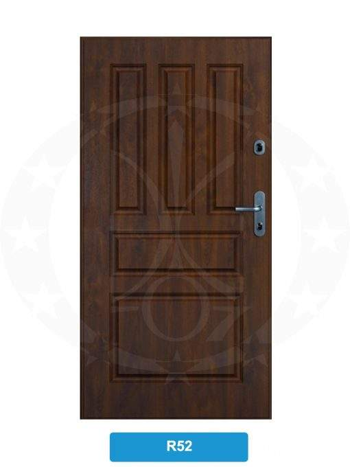 Двері вхідні металеві GERDA WPX3010D(S) R52