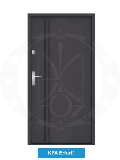 Двері вхідні металеві GERDA NTT60 QUADRO KPA Erfurt1