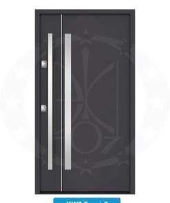 Двері вхідні металеві GERDA NTT60 QUADRO KW7 Trewir 7