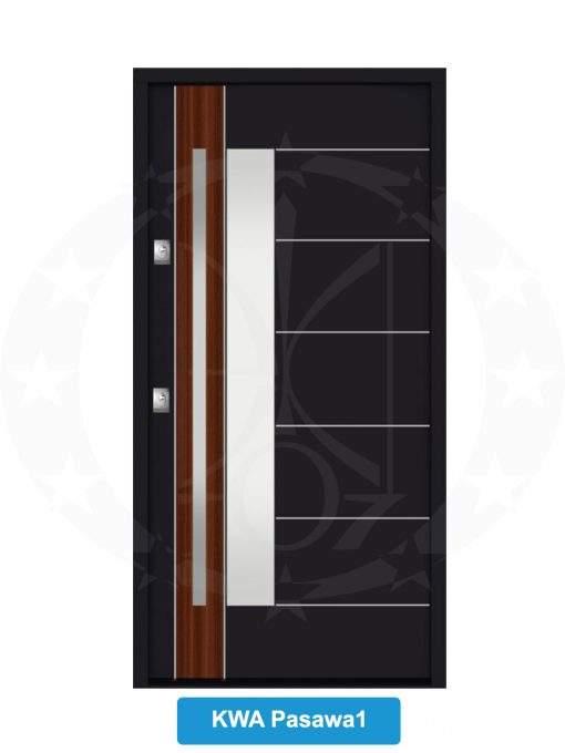 Двері вхідні металеві GERDA NTT60 QUADRO KWA Pasawa 1