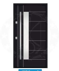 Двері вхідні металеві GERDA NTT60 QUADRO KWB Pasawa 2
