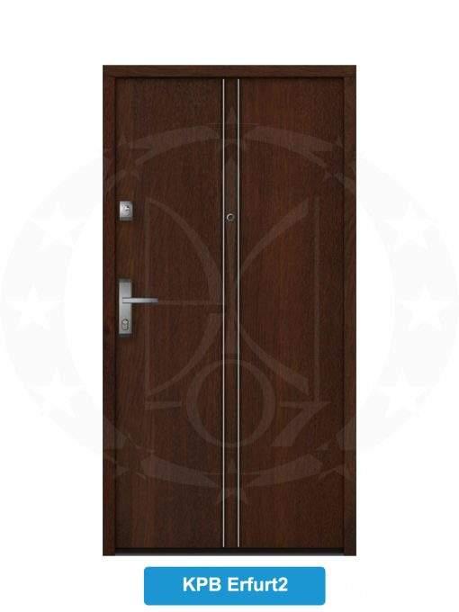 Двері вхідні металеві GERDA NTT60 QUADRO KPB Erfurt 2