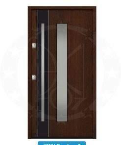 Двері вхідні металеві GERDA NTT60 QUADRO KWM Bamberg 3