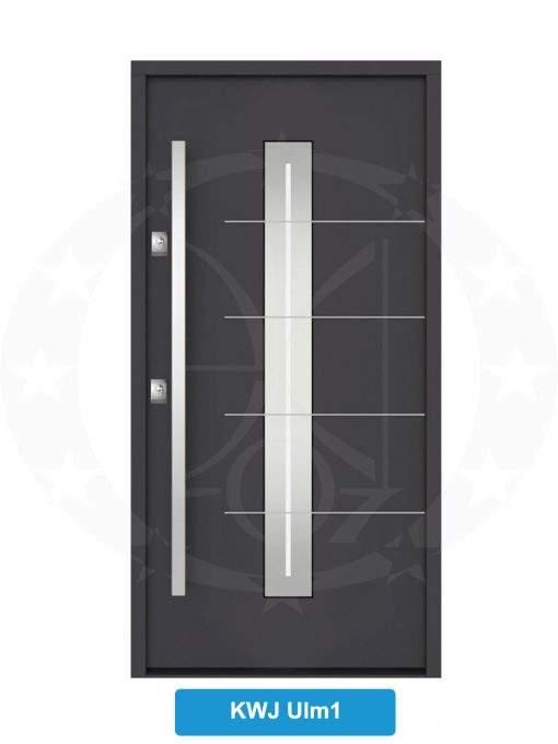 Двері вхідні металеві GERDA NTT60 QUADRO KWJ Ulm 1