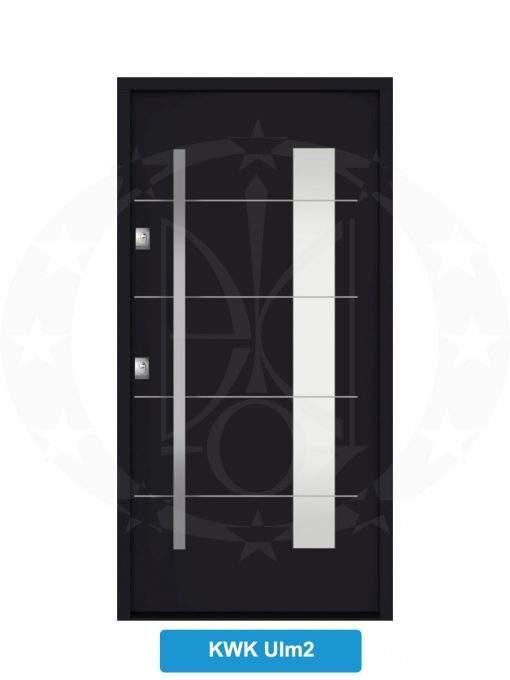 Двері вхідні металеві GERDA NTT60 QUADRO KWK Ulm 2