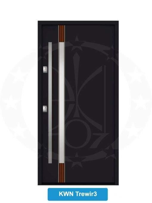 Двері вхідні металеві GERDA NTT60 QUADRO KWN Trewir 3