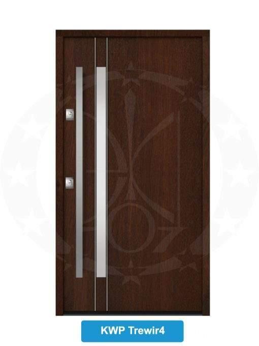 Двері вхідні металеві GERDA NTT60 QUADRO KWP Trewir 4