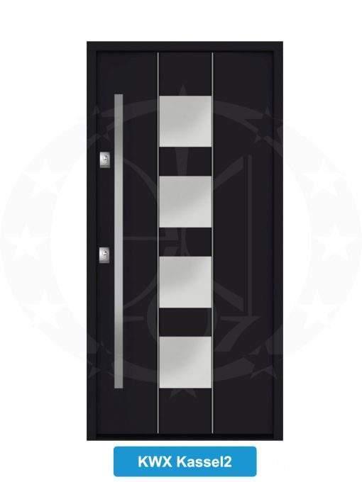 Двері вхідні металеві GERDA NTT60 QUADRO KWX Kassel