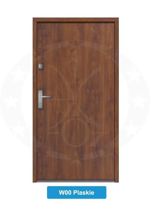 Двері вхідні металеві GERDA NTT60 QUADRO W00