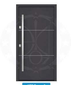 Двері вхідні металеві GERDA NTT60 QUADRO KPF Drezno 2