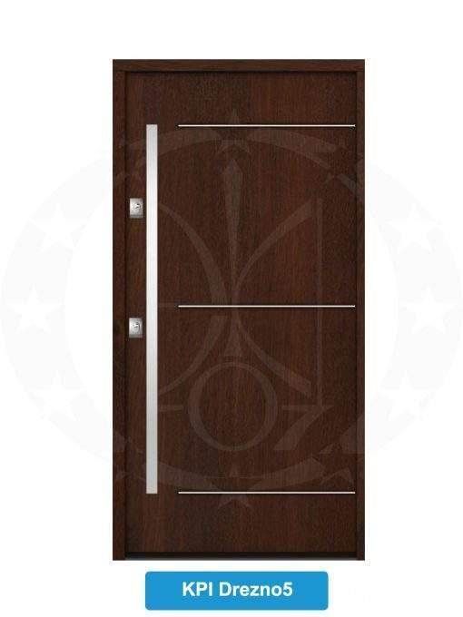 Двері вхідні металеві GERDA NTT60 QUADRO KPI Drezno 5
