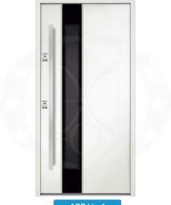 Двері вхідні металеві GERDA NTT75 AIR GLASS AGB Linz 1