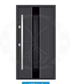 Двері вхідні металеві GERDA NTT75 AIR GLASS AGC Linz 2
