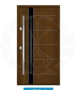Двері вхідні металеві GERDA NTT75 AIR GLASS AGG Graz 3