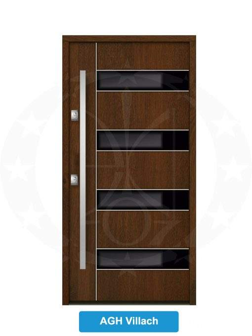 Двері вхідні металеві GERDA NTT75 AIR GLASS AGH Villach