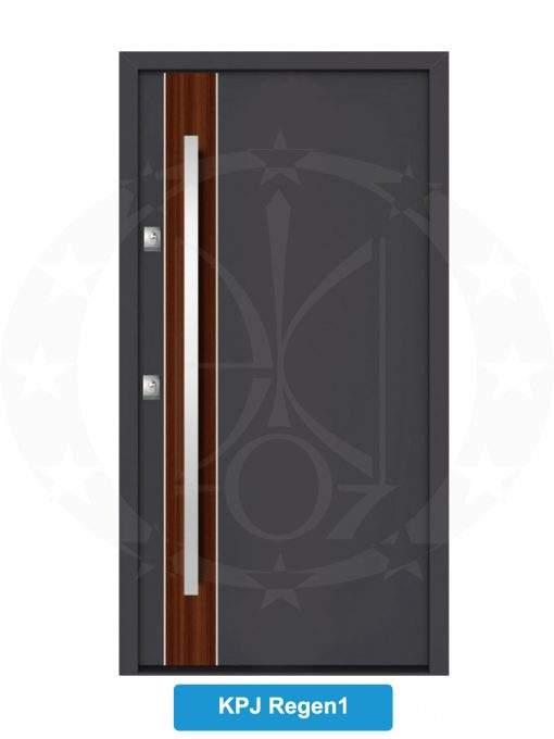 Двері вхідні металеві GERDA NTT75 QUADRO KPJ Regen 1
