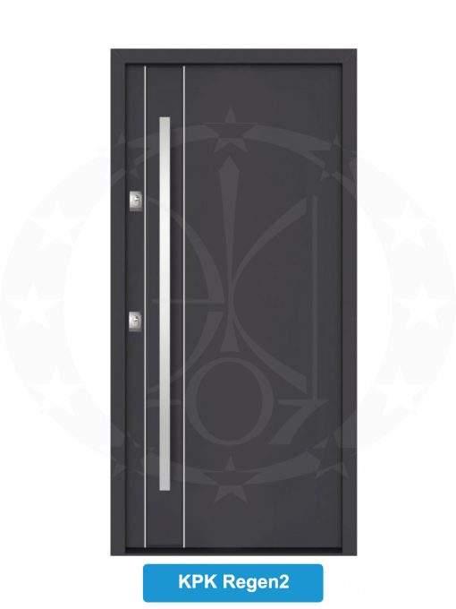 Двері вхідні металеві GERDA NTT75 QUADRO KPK Regen 2