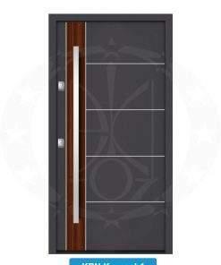 Двері вхідні металеві GERDA NTT75 QUADRO KPN Kronach 1