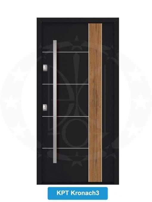Двері вхідні металеві GERDA NTT75 QUADRO KPT Kronach 3