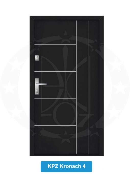 Двері вхідні металеві GERDA NTT75 QUADRO KPZ Kronach 4